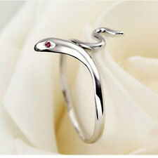 Fashion Opening Adjustable Snake Finger Ring Women's Party Jewelry Accessories