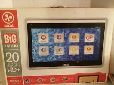 nabi Big Tab HD, Wi-Fi, 20 inch Tablet Touchscreen Unlocked - Silver -