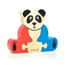 Ecoboo Mini Panda 3 Piece Puzzle #EB033