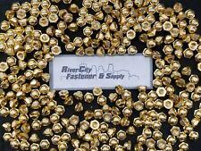 (250) 5/16-18 Brass Acorn / Dome / Cap Hex Nut 5/16 x 18 Nuts 5/16x18 Nut