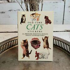 Vintage CATS STICKERS by Carol Belanger Grafton ~ Victorian Postcard Images