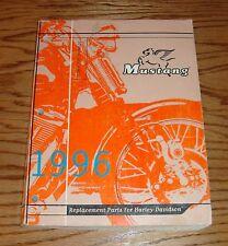 Original 1996 Harley Davidson Mustang Replacement Parts Catalog 96