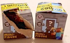 LOT OF 3 MINECRAFT STONE SERIES 2 BLIND BOX FIGURES