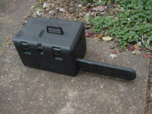 USED CRAFTSMAN CHAINSAW CARRY STORAGE CASE