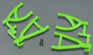 NEW RPM Traxxas 1/16 E-Revo Rear Upper & Lower A-Arm Set Green 80604