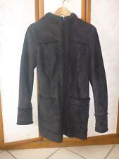 Manteau à capuche noir T36 Clockhouse
