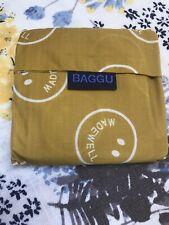 Baggu Madewell Smile Smiley Face Emoji Mustard Yellow