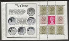 (Rm3) Gb Qeii Stamps. The Royal Mint Prestige Booklet Pane ex Dx4 1983