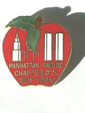 Vintage Manhattan Empire Chapter 5 New York Telephone Pioneers of America Pin