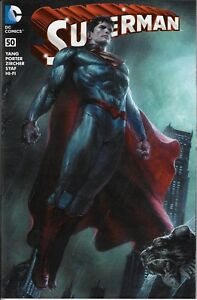 Superman #50 Bulletproof Comics Gabriele Dell'Otto Connecting Variant!