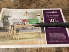WAYFAIR Coupon 10% Off - First Time Shoppers / New Customers Expires 11/14/21
