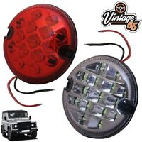 Land Rover Defender Wipac 95mm LED Rear Red Fog Lamp & Reversing Light Upgrade