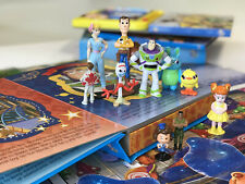 Toy Story 4 My Busy Book With 10 Mini Figures NEW