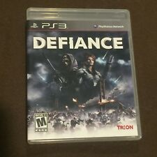 Sony PlayStation PS3 Video Game Defiance Rated M