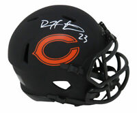 Devin Hester Signed Chicago Bears Eclipse Riddell Speed Mini Helmet - SS COA