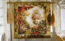 1/12 Scale Dollhouse Still Life Flowers Drape Urn Trees Tapestry