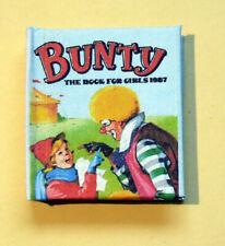 Dollshouse Miniature Book - Bunty annual for girls