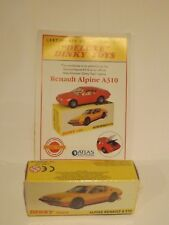 "ATLAS EDITIONS..""DELUXE"" DINKY TOYS 1411..AN ALPINE RENAULT A310..NEW SEALED +CE"