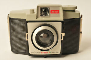Kodak Brownie Cresta 3 Medium Format 120 Film Camera - Superb Holga Alternative