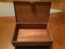 Antique WMF Art Nouveau Cigar Box 1909