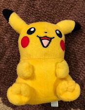 "Vintage Nintendo Hasbro 2000 Pokemon Pikachu Collectible Plush Stuffed Toy 7.5"""