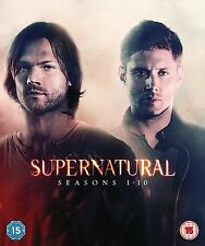 SUPERNATURAL COMPLETE SEASON 1 2 3 4 5 6 7 8 9 & 10 DVD BOX SET R4 1 - 10 New