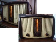 Radio d'epoca rarissima a valvole GEC anni 50 MODIFICATA PER RICEVERE ANCHE l'FM