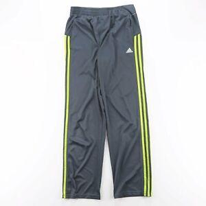 ADIDAS  Blue Regular Sports Track Pants Boys L