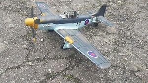 RAF F2 Mustang model metal plate model 1/24