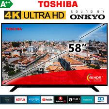 "Toshiba 58"" Zoll Fernseher 4K UHD Smart TV LED 146 cm Ultra HD HDMI USB NETFLIX"
