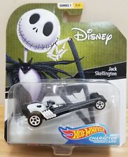 Hot Wheels Jack Skellington character cars