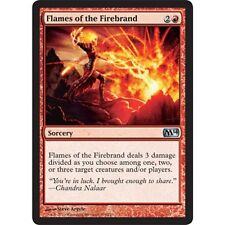 2x MTG Flames of the Firebrand NM - M14