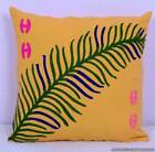Indian Embroidered Suzani Cushion Cover Handmade Throw Pillow Case Decor 16""