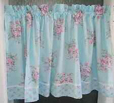 Charming Country Style  Rose Curtain Shabby Cotton Lace Curtain freeshipping