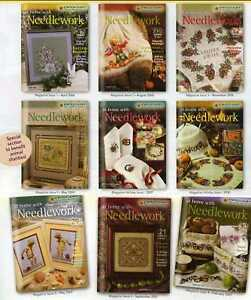 Zweigart's At Home With Needlework Magazine All 13 Issues Cross Stitch NEW