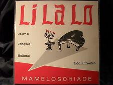 Jossy & Jacques Halland-lilalo/mameloschiade