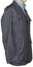 'Engedichang' Designer Jacket- Grey Size: Medium (100% Cotton)