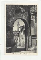 siena antica cartolina formato piccolo arco di san giuseppe