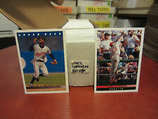 1993 Upperdeck Baseball pick 40 cards complete your set nm