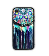 Black Indian Dreamcatcher Case- Rubber Silicone Case For iPhone 6 6S 5S S6 S5 S4