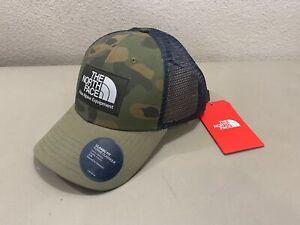 Men's The North Face Fine Alpine Equipment Mudder Green Trucker Hat Cap