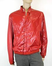 NEW Authentic Gucci Mens Red Bomber Jacket Coat, EU 56/US 46, 232055
