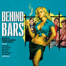 BEHIND BARS - JOHNNY CASH MARTY ROBBINS FRANKIE LAINE CRICKETS - 2 CDS - NEW!!