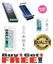 100% Temper Glass Screen Protector Case pouch for APPLE IPHONE , HTC , SAMSUNG