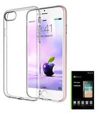 Für Apple iPhone 8 (4.7) Hülle Schutzhülle Bumper KLAR Transparent TPU Case NEU