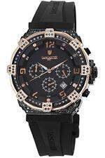 Lancaster Women's OLA0441L/BK/RG/NR Robusto 108 DIAMONDS Chronograph Black Watch