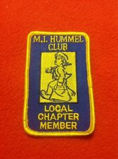 M. I. Hummel Club Local Chapter Member Patch Vintage Mint Have Several Available