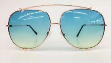 Large Men Retro Vintage Metal Bar AVIATOR Designer Fashion Driving Sunglasses