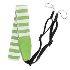 Известь зеленый полосатый ремень для камеры для Fuji Instax Mini 9 8+ шеи и плеч