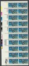 1684 MNH Plate Strip of 20 13-cent stamps - Commercial Aviation